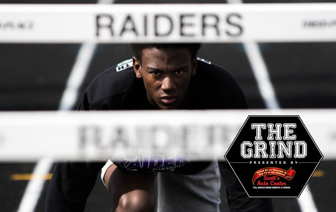 THE GRIND: Marcus Alvarez, North Forsyth